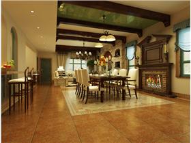 286平米别墅| 美式休闲自然的生活居室 将大自然的奇妙融会贯通~