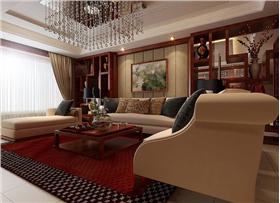古色古香素雅新中式大宅 180平三室两厅两卫裝修效果圖赏析