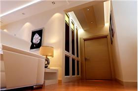 鏤空刻畫、石材打造電視墻,壁紙裝飾臥室,4w即可打造106㎡簡約二居