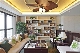 东南亚风格 160平亚热带风情温馨三居室
