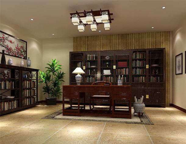 1 /8 400﹐5室3厅1厨2卫简约中式风格客厅电视背景墙装修效果