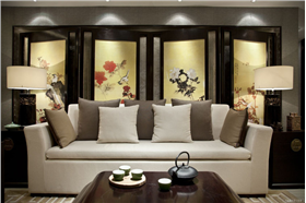 新中式给人一种悠远、浓厚的文化韵味 清雅含蓄、端庄丰华