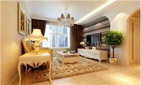 6萬打造理想城90平米歐式田園風格,詮釋公主房高貴和浪漫的感覺