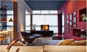色彩飛揚給住宅賦予了創新生命 打造屬于自己的理念生活環境