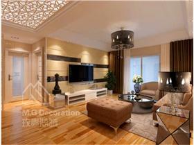 4.9萬打造90㎡三居室 極盡簡約的時尚美好
