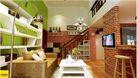 【珠江灣畔天鵝堡】47平LOFT地中海風浪漫二居室,你準備好了嗎