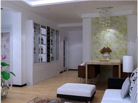 客廳、餐廳對壁紙的完美運用,打造浪漫家居生活空間