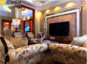 吳太太為家人打造華麗的歐式別墅?餐廳加入酒店式土豪金吊頂,華麗大氣輕松呈現