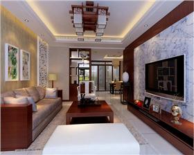 【万合世家】宁静以致远,4万打造72平沉稳中式風格四居室