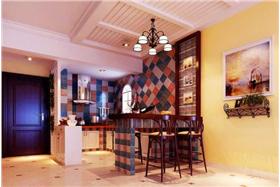 浪漫溫情地中海風格~92.8m2地中海二居室溫馨舒適