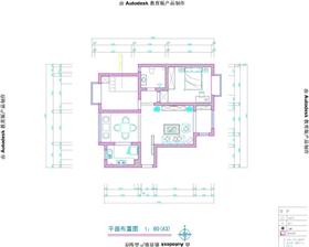 【名士豪庭】109平方簡約中式風格二居室-造價4.5萬