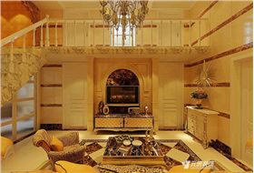 復式結構90平米展現經典品味,簡潔溫馨,色調溫暖