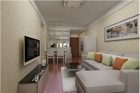 小夫妻為買房省錢拼裝修,用最簡單的造型打造最舒適的家