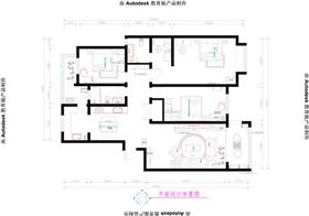 九洲溪雅苑?新中式四居室,追求结合高贵凸显气质装修设计
