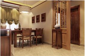 110㎡中式風格装修设计效果!老少三代的绝佳住所!