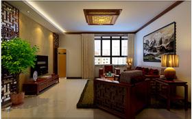 中式風格 中式元素实木家具的原木搭配尽显一个家族的文化~