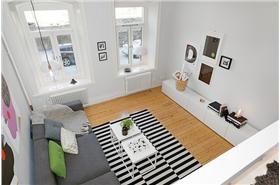 49平米的北歐風格Loft公寓充滿舒適與溫馨