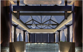 溫泉別墅寬敞精裝,木架主體打造大氣典范