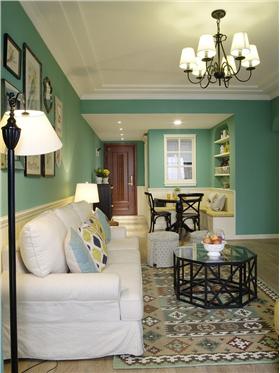 保利里院里?綠色清新小格調 簡約二居室別樣浪漫情懷