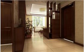 8万打造【联邦祥云国际】134㎡中式三居,实木家具更添一份自然
