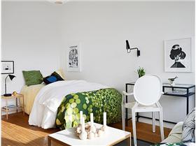 巧妙點綴空間 小戶型清新單身公寓
