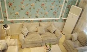 【崇文門】清新的家,清新的愛,5萬打造137平韓式田園風三居。