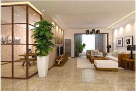 中式風格-122.2平米四居室装修