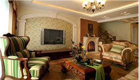 【紫金東郡】168㎡打造自然溫馨美式田園風格,給你一個溫暖的家