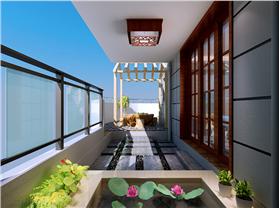 天水 盛世年华 190平层新中式風格 红木家具显示中式沉稳~