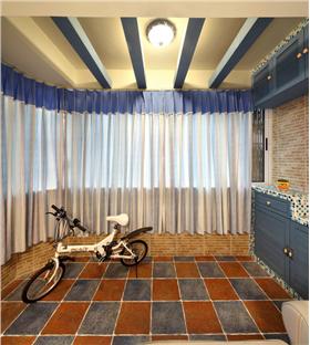 溫情地中海,77平兩房,超級收納空間的幸福婚房設計!
