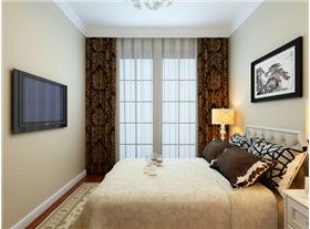 【白金翰宮】三居室現代簡約風格裝修,精致典范。
