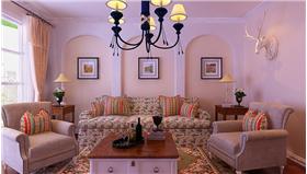 溫馨舒適婚房就要這樣設計——【 140平地中海打造完美愛居】