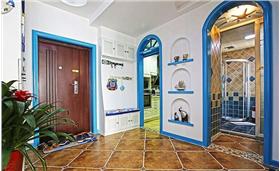 藍白相間海洋色系——DIY清爽地中海的家