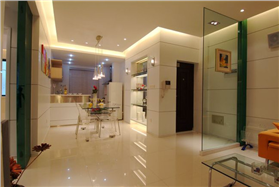 簡約三居開放廚房,銀鏡讓次臥空間瞬間變大&80后白領4.5萬半包打造愛的新宅