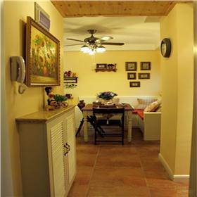 臥室占客廳,卡座沙發并入小餐廳?50m2經濟適用房變身小巧田園二居