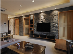 简约舒适130㎡三居室——打造木质元素家居