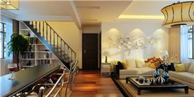 75㎡精致個性、拋棄繁瑣、保留精華的現代簡約三居室家裝。