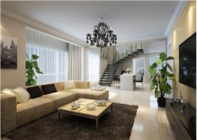 簡單的家居以及飾品搭配將主人灑脫的個性體現得淋漓盡致