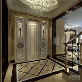 成都河畔新世界別墅裝修設計-豪華大氣風格