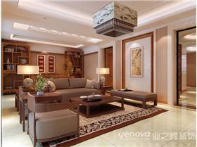 棕榈泉旁边的别致风景,40万打造一个200平的中式躍層新居!