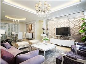 衛生間改臥室,拆墻擴廚房,空間再一次利用,打造舒適新古典四居室
