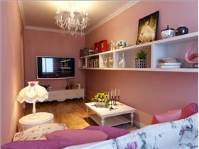 帝都60㎡單身公寓改造,分割客廳加書房,1室變作小2室,hellokitty進駐粉色公主居