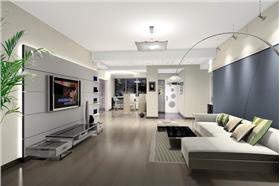 金源御景華府 102平米二居室 簡約風格潔白明亮空間