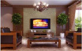大气优雅的新中式三居室,既创新独特又似曾相识