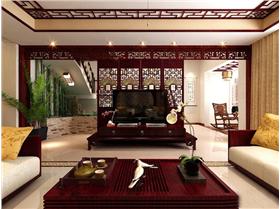 中式傳統文化的魅力,成就大氣奢華的中式裝修。