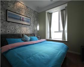【山水悅庭】 100㎡二居室簡約藍精靈風格夢幻裝修