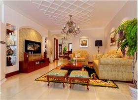 優雅、含蓄、打造溫馨放松隨意的居家氛圍