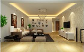 現代居来点中式风~精美复式四人居室温馨您的生活~