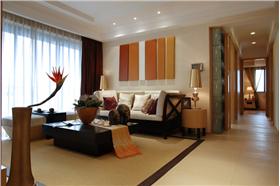 灵动曼谷 诗意的异域风情 130平米二居室东南亚风格