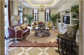 美式大气质朴空间,不需要夸张的装修与家具,简单打造时尚之家。